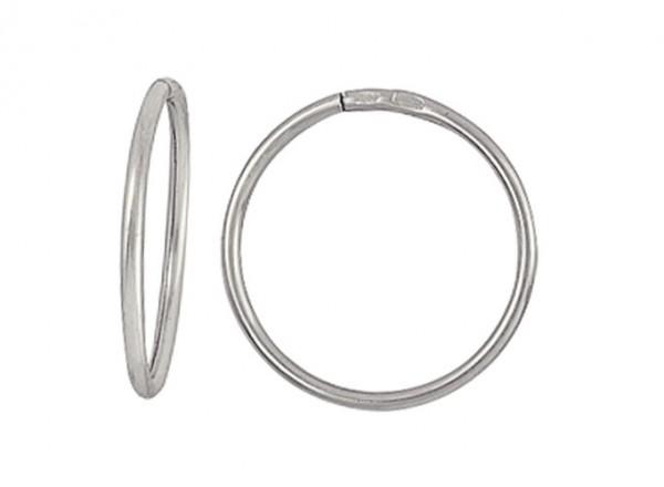 Серьги Кольца из серебра 925 различного диаметра 3400017035