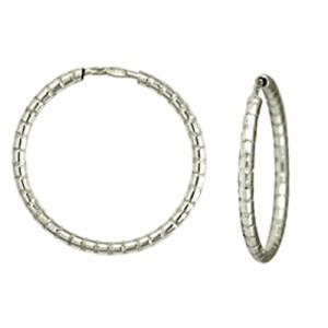 Серьги Серебряные змейки из серебра - кольца 3400817048-3