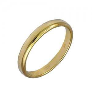 3800001901 Кольцо обручальное классика