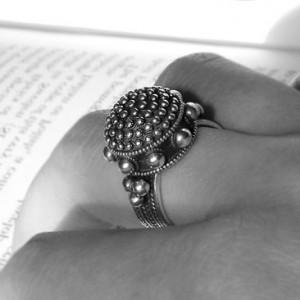 Перстень Серебряный Купол