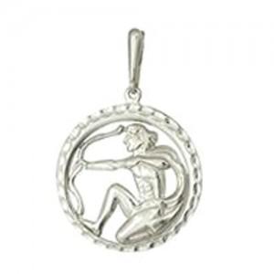 3408036137 Подвеска Знак Зодиака Стрелец серебро