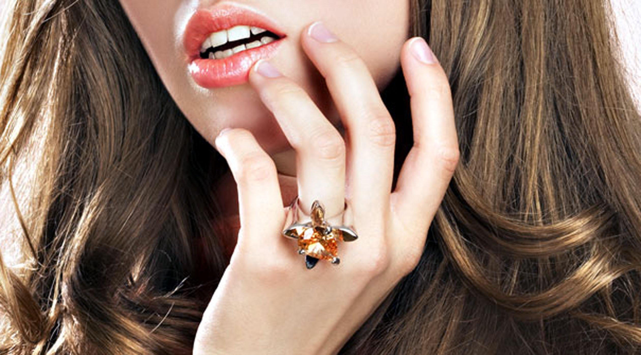 девушке палец для кольца определить размер