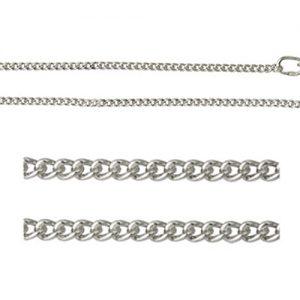 мужская цепочка Денди из серебра фото