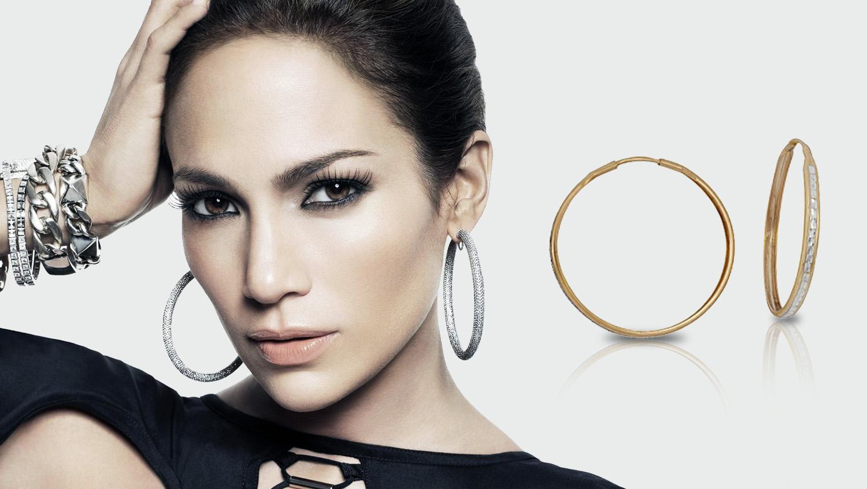 серьги кольца из серебра в моде не только в 2017 году но и всегда