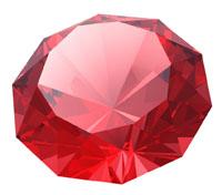 рубин красный камень