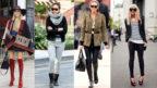 уличная мода стиль фэшиони брендовые сумки и спортивные штаны