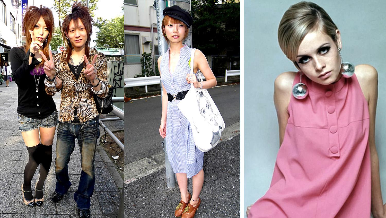 стиль фешиони в японии и англии