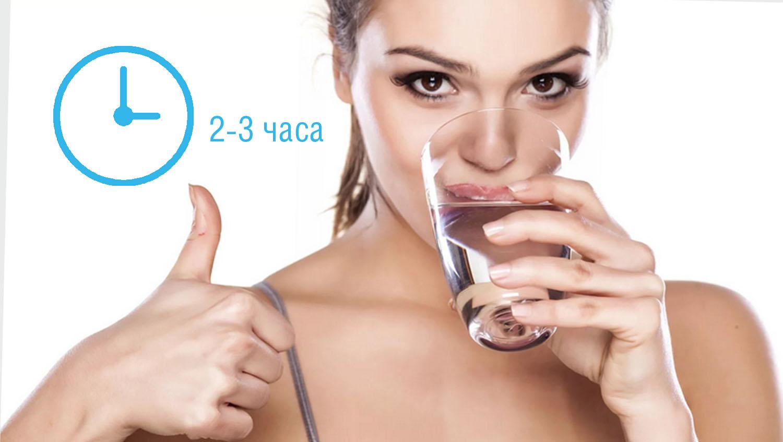 как похудеть за неделю - как пить воду правила