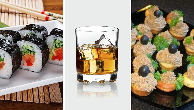 с чем пьют и закусывают виски
