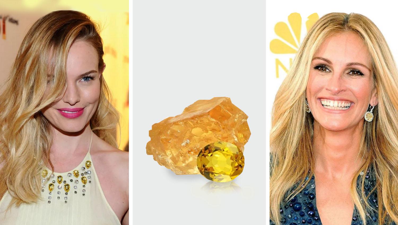 Какому типу внешности подходят желтые полудрагоценные камни