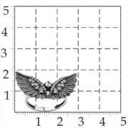 кольцо крылья орла — 3