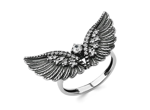 Кольцо крылья орла