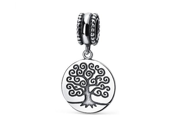 Подвеска-шарм Дерево Жизни, серебро
