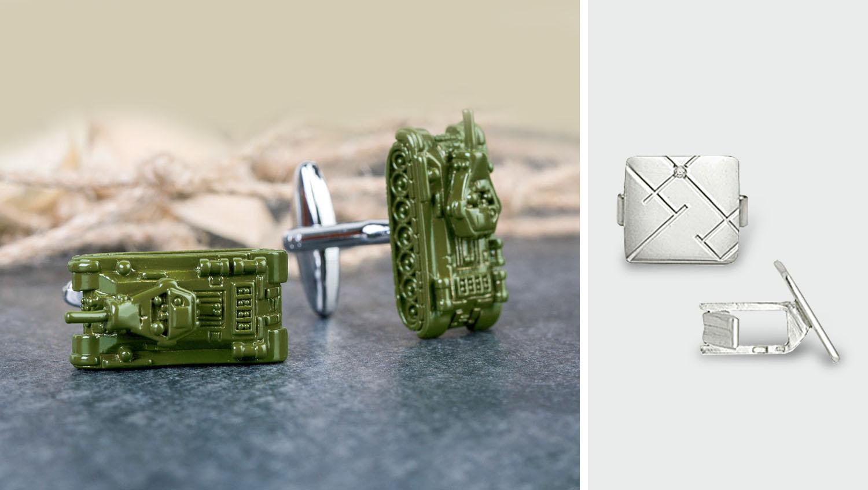 Брендовые запонки и оригинальные модели