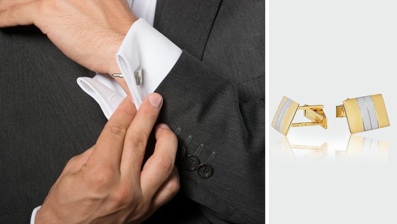 Как одевать запонки