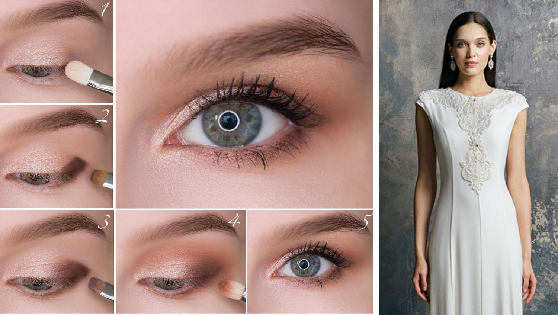 Делаем серые глаза выразительными