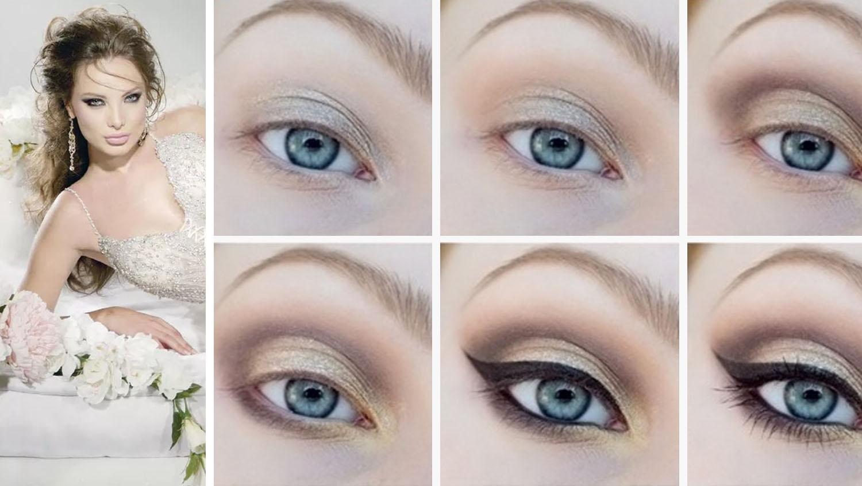 Делаем серые глаза выразительными макияж