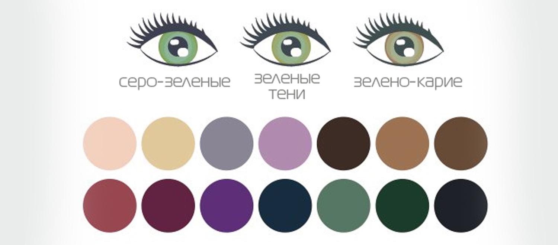 Как сделать красивый макияж глаз для зеленоглазых