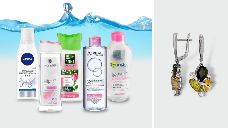 Топ-5 популярных брендов мицеллярной воды