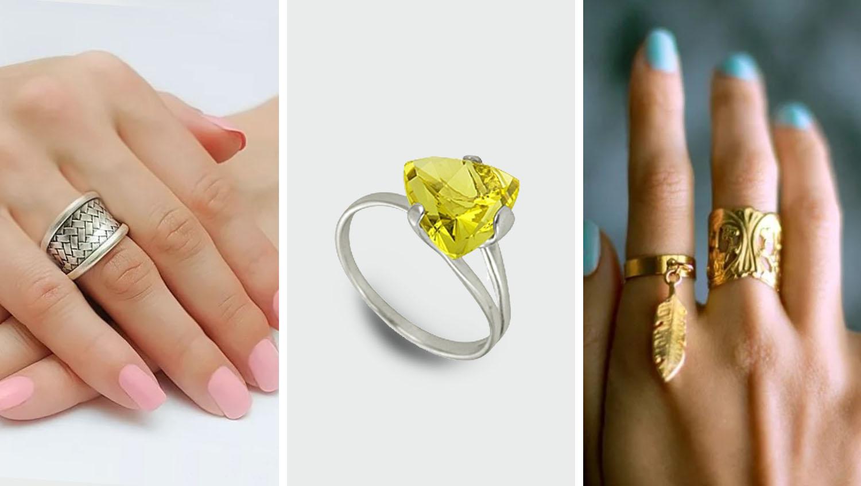 Как подобрать кольцо по форме пальцев и возрасту
