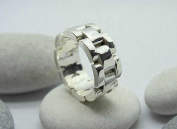 Кольцо браслет от мужских часов 1