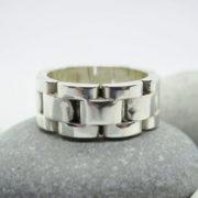 Кольцо браслет от мужских часов 2