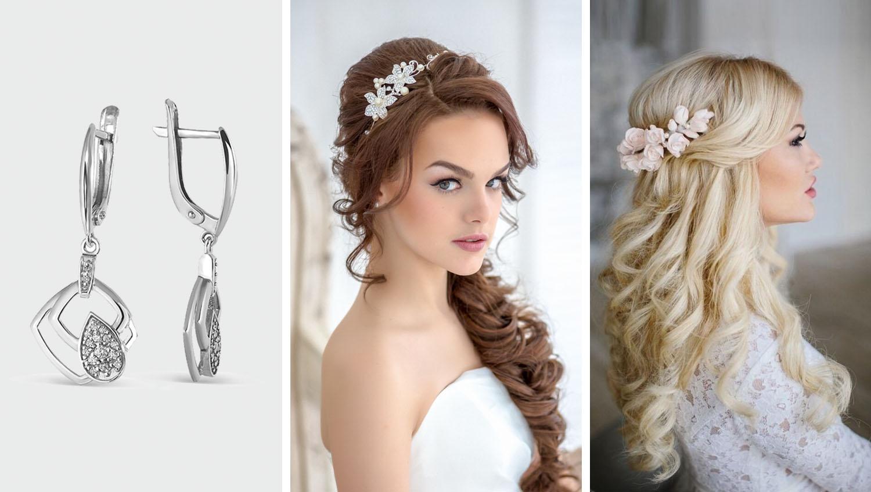 Свадебная укладка на длинные волосы