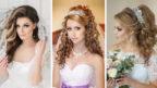 Свадебные укладки для волос выбираем по длине волос и форме лица